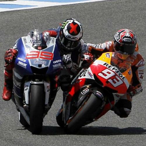 Polemica Valentino Rossi y Marc Marquez
