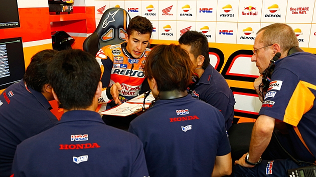 Honda obliga a Márquez a rodar un día después de Jerez