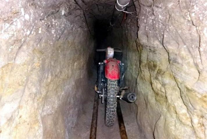 La moto con la que escapó el «Chapo» Guzmán