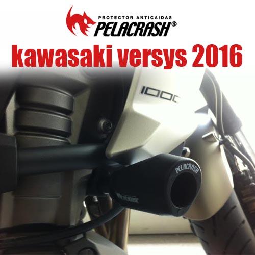 Protector de carenado moto Kawasaki versys 1.000