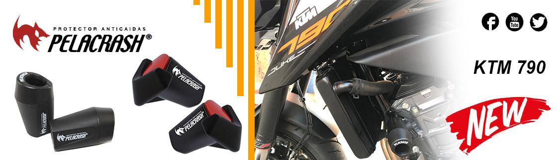 Nuevos Pelacrash para KTM 690