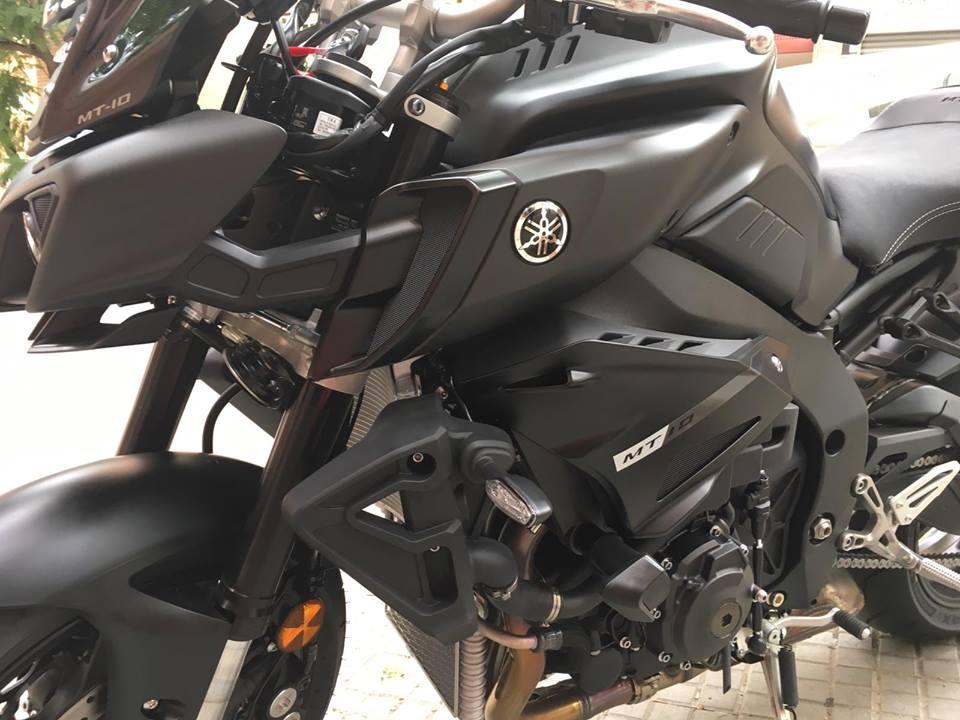 Nuevo Protector de carenado Pelacrash Factory para Yamaha MT10